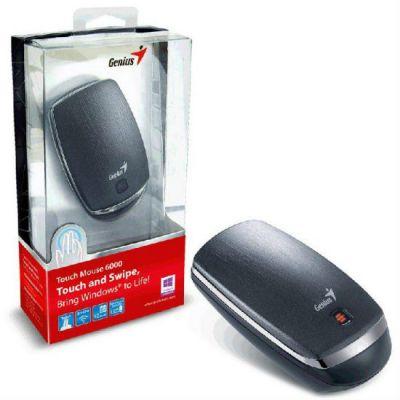 Мышь беспроводная Genius Touch 6000 черный