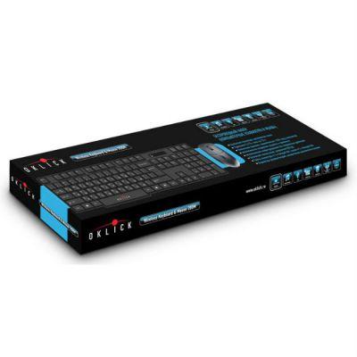 Комплект Oklick Клавиатура + мышь 200M