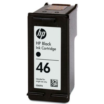 Расходный материал HP 46 Black Ink Advantage Ink Cartridge CZ637AE#BFW