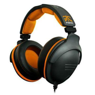 Гарнитура SteelSeries 9H Fnatic Edition черный/оранжевый
