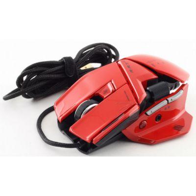 Мышь проводная Mad Catz R.A.T.5 Glossy Red (MCB437050013/04/1)
