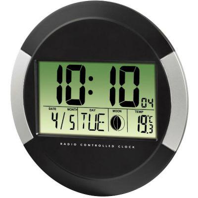 Настенные часы Hama цифровые PP-245 черн H-104936