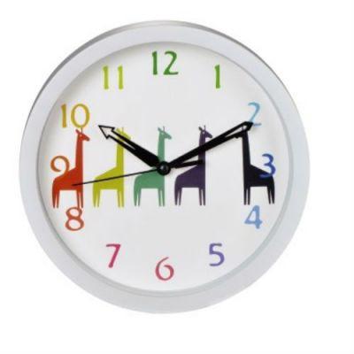 Настенные часы Hama аналоговые Giraffes H-123169