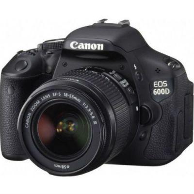 Зеркальный фотоаппарат Canon EOS 600D EF-S 18-55mm DC III 5170B158