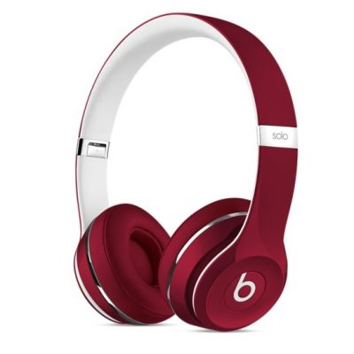 �������� � ���������� Apple Beats Solo2 On-Ear Headphones (Luxe Edition) - Red ML9G2ZE/A