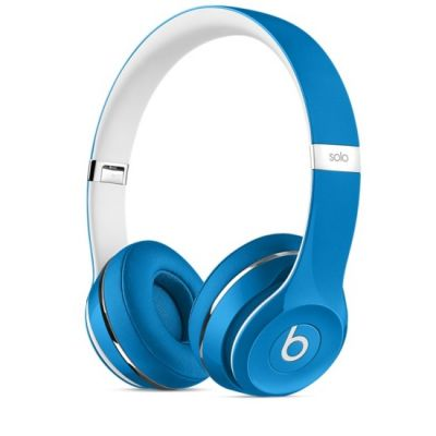 Наушники с микрофоном Apple Beats Solo2 On-Ear Headphones (Luxe Edition) - Blue ML9F2ZE/A
