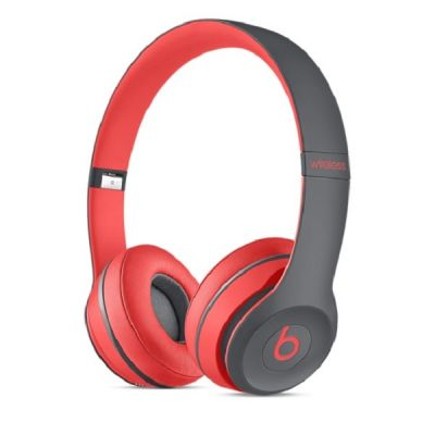 Наушники с микрофоном Apple Beats Solo2 Wireless Headphones Active Collection - Red MKQ22ZE/A