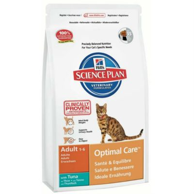 Сухой корм Hills для взрослых кошек (с тунцом) 400г (5201EA)