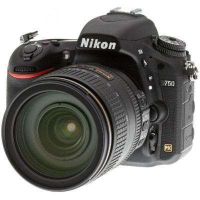 Зеркальный фотоаппарат Nikon D750 24-120mm f/4G AF-S ED VR D750KIT24-120VR