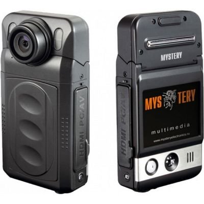 Видеорегистратор Mystery MDR-800HD черный 5Mpix 1080x1920 1080p 120гр.