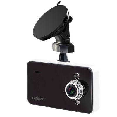 Видеорегистратор Ginzzu FX-700HD черный 1.3Mpix 720x1280 720p 120гр. NTK9622