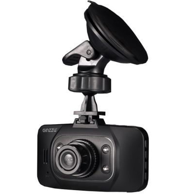 Видеорегистратор Ginzzu FX-803HD черный 3Mpix 1080x1920 1080p 140гр. Novatek