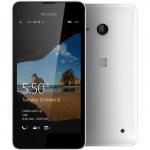 Смартфон Nokia Microsoft Lumia 550 White A00026498