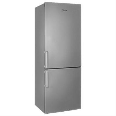 Холодильник Vestel VCB 274 МS серебристый 11002288