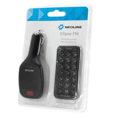 Neoline FM-модулятор черный MicroSD USB PDU Ellipse FM