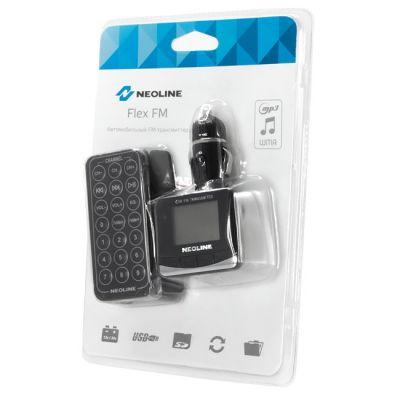 Neoline FM-модулятор черный MicroSD USB PDU Flex FM