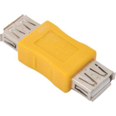 Адаптер Vcom переходник USB 2.0 AF/AF (VAD7901/CA408)