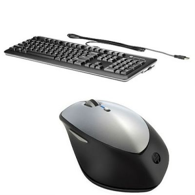 Комплект HP клавиатура E6D77AA Black + мышь X5500