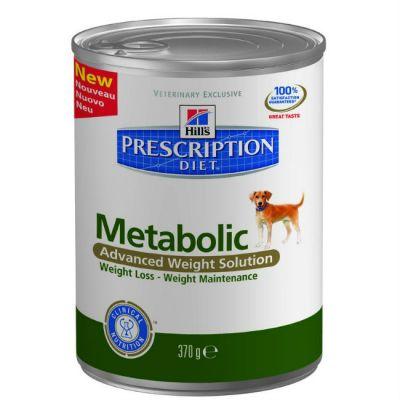 Консервы Hills Metabolic для собак коррекция веса 370г (2101M)
