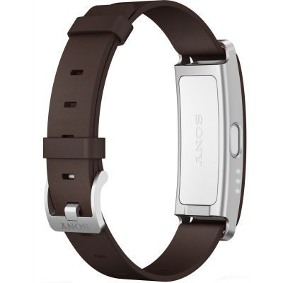 Sony Браслет SmartBand SWR10 Brown Leather