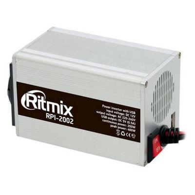 Ritmix Инвертор автомобильный USB 200Вт RPI-2002