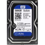 "Жесткий диск Western Digital SATA-III 500Gb Blue (5400rpm) 64Mb 3.5"" WD5000AZRZ"