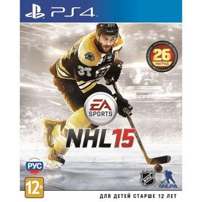Игра для PS4 NHL 15 (русские субтитры) NHL15-PS4