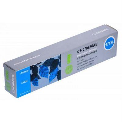 Расходный материал Cactus Картридж голубой 971XL для HP Officejet Pro X476dw/X576dw/X451dw (113ml) CS-CN626AE