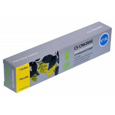 Расходный материал Cactus Картридж желтый 971XL для HP Officejet Pro X476dw/X576dw/X451dw (113ml) CS-CN628AE