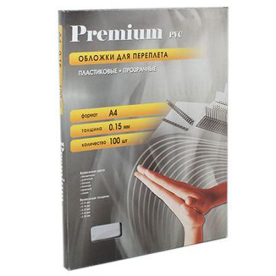 Расходный материал Office Kit Обложки прозрачные пластиковые А4 0.15 мм 100 шт. PCA400150