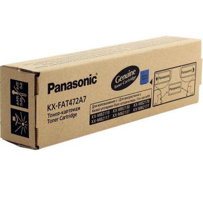 Тонер-картридж Panasonic Black/Черный (KX-FAT472A7)