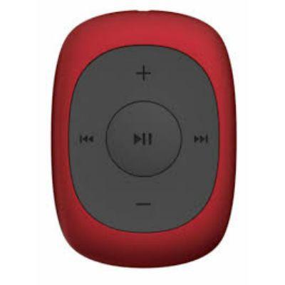 Аудиоплеер Digma Flash C2 8Gb красный/черный/FM/clip