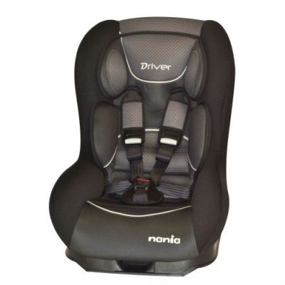 Детское автокресло Nania Driver FST от 0 до 18 кг (0+/1) черный 043076