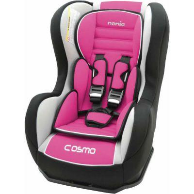 Детское автокресло Nania Cosmo SP LX (agora framboise) От 0 до 18 кг (0+, 1) розовый