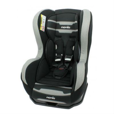 Детское автокресло Nania Cosmo SP PL (boomer black) от 0 до 18 кг (0+/1) черный/серый 089960