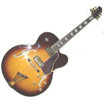 Полуакустическая гитара Greg Bennett JZ2/VS
