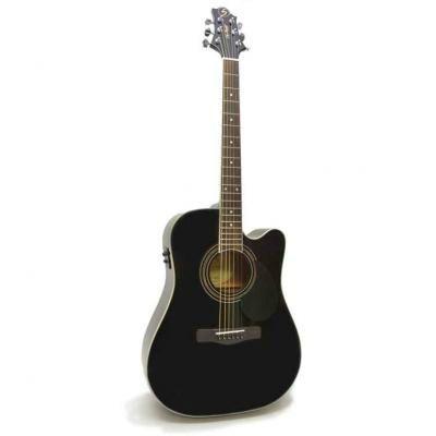 Электроакустическая гитара Greg Bennett GD101SCE/BK