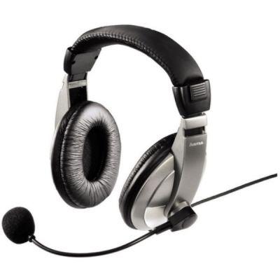 Наушники с микрофоном Hama H-11592