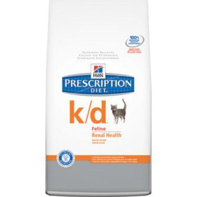 Сухой корм Hills k/d для кошек лечение почек и МКБ 5кг (4308M)