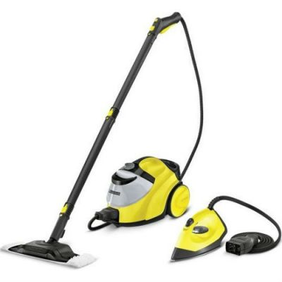 Karcher Пароочиститель напольный SC 5 Ironkit *EU 2200Вт желтый/черный 15125030