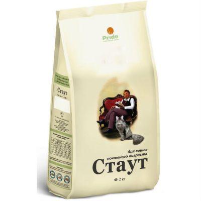 Сухой корм Стаут для кошек почтенного возраста упак. 2кг