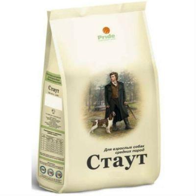 Сухой корм Стаут для взрослых собак средних пород упак. 3кг