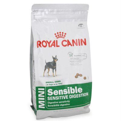 Сухой корм Royal Canin MINI SENSIBLE для собак мелких пород привередливых в еде 2кг