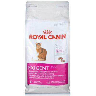 Сухой корм Royal Canin Exigent Savour Sensation для сверхпривередливых кошек 4кг
