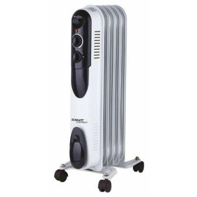 Радиатор Scarlett SC-OH67B01-5 белый/черный