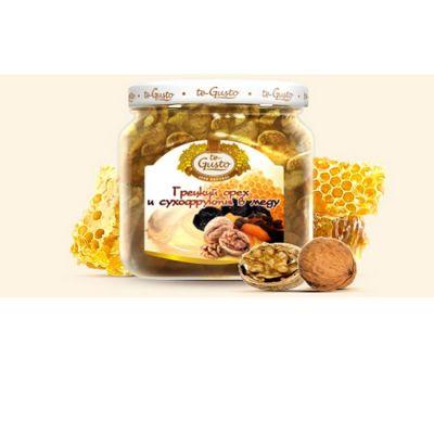 te Gusto грецкий орех и сухофрукты в меду (470 гр.)