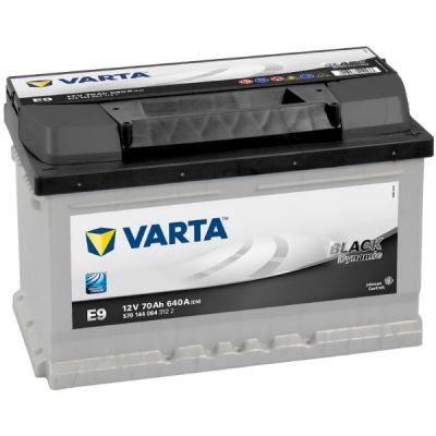 ������������� ����������� Varta Black Dynamic 70 �.�. E9 (570 144 064) ����. 0081658