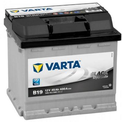 ������������� ����������� Varta Black Dynamic 45 �.�. B19 (545 412 040) 9107079