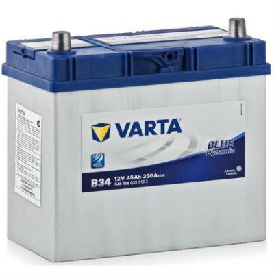 Автомобильный аккумулятор Varta Blue Dynamic Asia 45 п.п. B34 (545 158 033) 9107084
