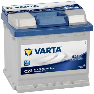 ������������� ����������� Varta Blue Dynamic 52 �.�. C22 (552 400 047) 9107086